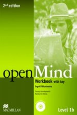 Open Mind 2nd Edition AE Level 1B Workbook with Key & CD Pack
