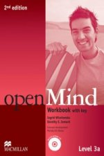 Open Mind 2nd Edition AE Level 3A Workbook with Key & CD Pack