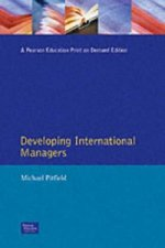 Developing International Managers