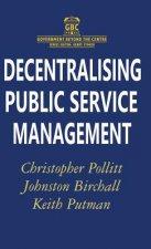 Decentralising Public Service Management