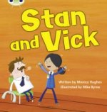 Phonics Bug Stan and Vick Phase 3 (Fiction)
