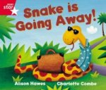 Rigby Star Guided Reception Red Level: Snake is Going Away Pupil Book (single)