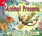 Rigby Star Guided Reception: Red Level: Animal Presents Pupil Book (Single)