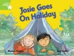 Rigby Star Guided 1 Green Level: Josie Goes on Holiday Pupil Book (Single)