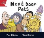 Rigby Star Guided Reception/P1 Red Level: Next Door Pets (6 Pack) Framework Edition