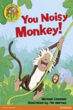 Jamboree Storytime Level B: You Noisy Monkey Little Book