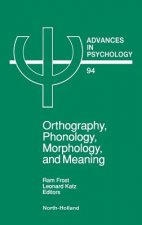 Orthography, Phonology, Morphology and Meaning