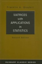 Matrices with Applications in Statistics