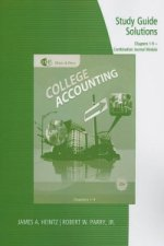 Study Guide Solutions, Chapters 1-9 for Heintz/Parry's College Accounting, 20th + Combination Journal Module