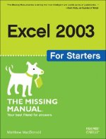 Excel 2003 for Starters the Missing Manual