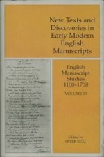 New Texts and Discoveries in Early Modern English Manuscripts