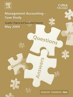 Management Accounting- Case Study