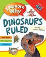Iww Sticker Activity Book Dinosaurs