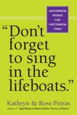 Don't Forget To Sing In The Lifeboats (U.S edition)