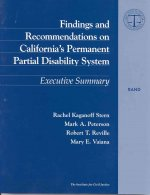 Findings and Recommendations on California's Permanent Partial Disability Sys