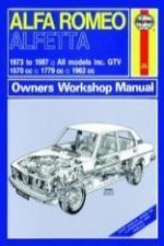 Alfa Romea Alfetta All Models Owners Workshop Manual