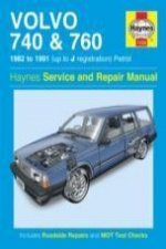 Volvo 740 & 760 Owner's Workshop Manual