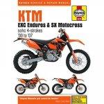 KTM EXC Enduros & SX Motocross sohc 4-strokes (00 - 07)