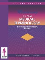 Mastering The New Medical Terminology Through Self-Instructional Modules