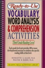 Ready-To-Use Vocabulary, Word Analysis and Comprehension Activities