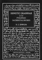 Demotic Grammar in the Ptolemaic Sacerdotal Decrees