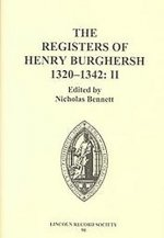 Registers of Henry Burghersh, 1320-1342