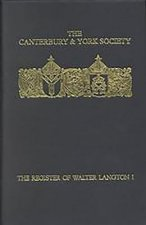 Register of Walter Langton, Bishop of Coventry and Lichfield, 1296-1321