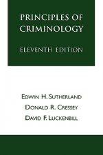 Principles of Criminology