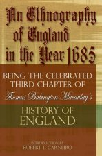 Ethnography of England in the Year 1685