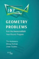 107 Geometry Problems from the Awesomemath Year-Round Program