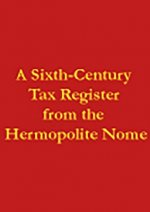 Sixth-century Tax Register from the Hermopolite Nome