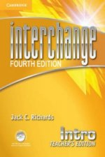 Interchange Intro Teacher's Edition with Assessment Audio CD/CD-ROM