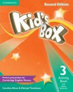 Kid's Box Level 3 Activity Book with Online Resources