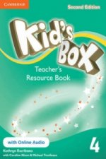 Kid's Box Level 4 Teacher's Resource Book with Online Audio