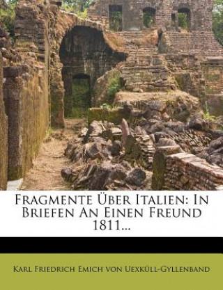 Fragmente Über Italien: erster Brief
