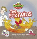 Comics for Phonics the Fox Twins Red A Set 6