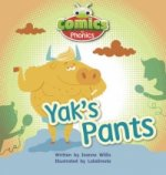 Comics for Phonics Yak's Pants Red A Set 7