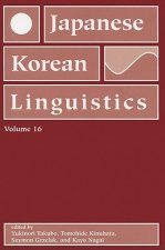 Japanese and Korean Linguistics