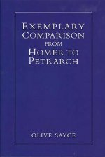 Exemplary Comparison from Homer to Petrarch
