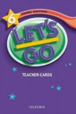 Let's Go: 6: Teacher Cards
