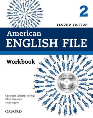 American English File: Level 2: Workbook with iChecker