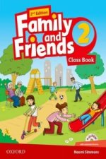 Family and Friends: Level 2: Class Book with Student MultiROM