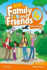 Family and Friends: Level 4: Class Book with Student MultiROM