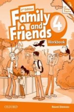 Family and Friends: Level 4: Workbook with Online Practice