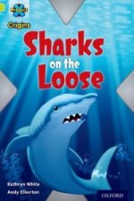 Project X Origins: Lime Book Band, Oxford Level 11: Masks and Disguises: Sharks on the Loose