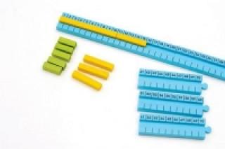 Numicon: 1-100cm Number Rod Track