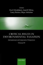 Critical Issues in Environmental Taxation