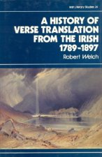 History of Verse Translation from the Irish, 1789-1897