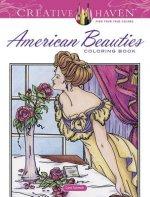 Creative Haven American Beauties Coloring Book
