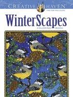 Creative Haven WinterScapes Coloring Book